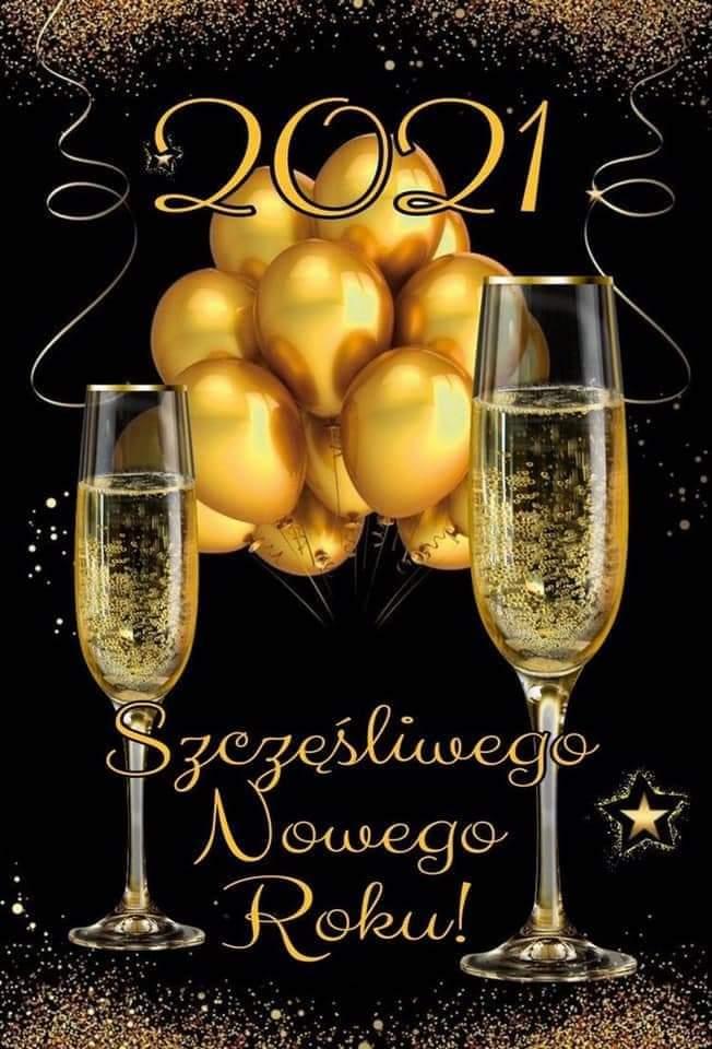 Szczeęśliwego Nowego Roku 2021